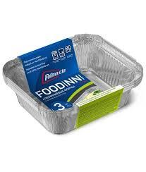 <b>Набор форм для выпечки</b> Foodinni алюм. фольга 400 мл (3 шт ...