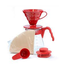 <b>Набор</b> Hario: воронка для заваривания кофе V60 и ...