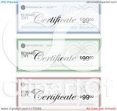 clipart of gift certificate designs sample text royalty clipart of gift certificate designs sample text royalty vector illustration by bestvector