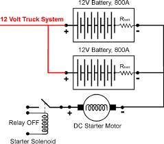 www truckt com parallel battery switch wiring diagram 24 volt relay Wiring Diagram 24 Volt Relay #47 Wiring Diagram 24 Volt Relay