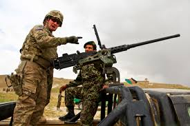 u s department of defense photo essay u s army sgt james misch shows afghan iers how to load an m2 50