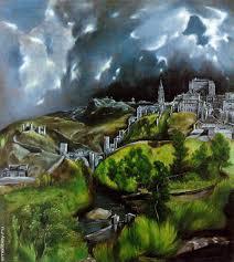 <b>Вид Толедо Картина</b> Эль Греко