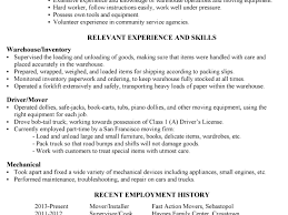 breakupus pleasant resume central gallaudet university breakupus goodlooking resume sample warehouse worker driver delectable need a resume guide and seductive optometry