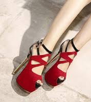 Cheap <b>Women</b> Peep <b>Toe</b> Red Shoes