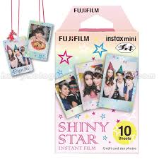 Genuine <b>Fuji Fujifilm</b> Instax Mini Instant <b>Film Shiny Star</b> 10pcs For ...