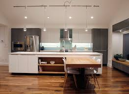 modern track lighting kitchen contemporary with glass backsplash gray stained accent lighting family room