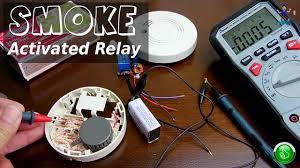 <b>Smoke</b> Activated Relay Circuit(Modified <b>Smoke</b> Alarm) - YouTube