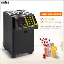 <b>XEOLEO</b> Bubble tea <b>Sugar</b> Dispenser 9L <b>Fructose Quantitative</b> ...