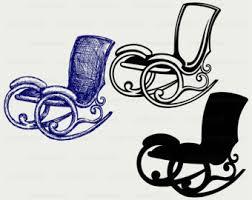 Rocking Chair Svgrocking Clipartrocking Svg Silhouettecricut Cut Filesclip Artdigital Download Designssvgdxf