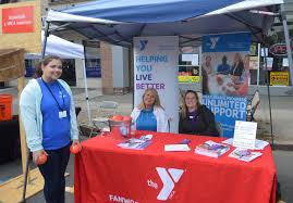 scenes from fanny wood day scotch plains fanwood nj news tapinto fanwood scotch plains ymca table credits john mooney