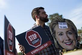 Image result for Hillary wearing a wire at Hofstra