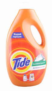 <b>Гель д/стирки Tide</b> Альпийская свежесть 1,820л - купить с ...