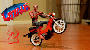 SPIDERMAN Stop Motion Action Video Part 2 - YouTube