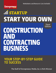 start your own entrepreneur bookstore entrepreneur com start your own construction and contracting business 3rd edition