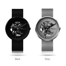 <b>CIGA Design</b> MY <b>Mechanical watch</b> Leather & Chain Strap – (Round ...