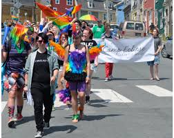 photo essay st john s pride parade ca on sunday hundreds of people ed in the streets of st john s to mark the end of the city s 2013 pride week celebrations organizers say this year s