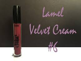 <b>Жидкая матовая помада Lamel</b> Professional Velvet Cream