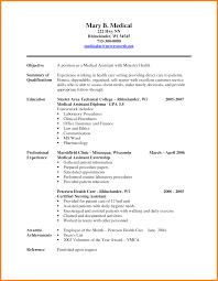 laboratory assistant cv ledger paper medical assistant resume sample