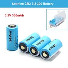 4X Rechargeable 15266/<b>16340</b> RCR123 <b>Battery</b> 300/<b>500mAh</b> For ...