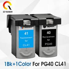 2pcs <b>Compatible ink cartridges</b> For Canon <b>PG40 CL41 PG 40 CL 41</b> ...