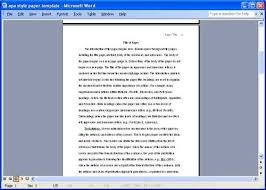 apa format essays help   format your essay the right way images of apa format essay paper