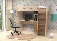 «<b>Кровать чердак golden</b> kids 5 дуб сонома» — Мебель — купить ...