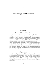 the etiology of depression depression in parents parenting page 73