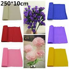 <b>250*10cm Origami Crepe</b> Paper Craft <b>Wrinkled</b> Paper Roll Wedding ...