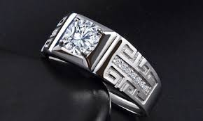 <b>S925 sterling silver</b> plated <b>platinum</b> 5A zircon couple engagement ...