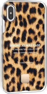 <b>Клип</b>-<b>кейс Happy Plugs для</b> Apple iPhone XS Max Leopard с ...