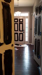 painting interior doors black updating brass hardware awesome black painted