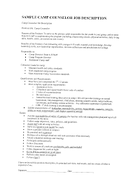 resume summer camp leader images about operations resume camp counselor job description for resume s counselor sample resume