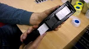 Как заправить этикет пистолет лентой (Blitz, Open, Jolly) - YouTube