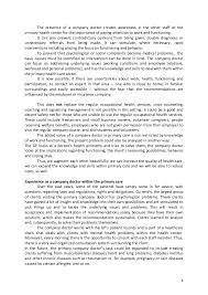 personal statement for work health and social carea good indication of what an employer is looking for in a personal statement iswhat