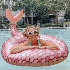 <b>Круг надувной BigMouth Mermaid</b> Rose Gold купить в Чите