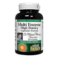 Dr. Murray's <b>Multi Enzyme</b> (120 Capsules) by Natural Factors at the ...
