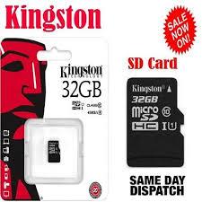 NEW <b>GENUINE KINGSTON</b> MICRO SD SDHC MEMORY CARD ...