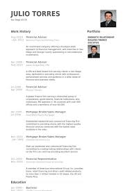 financial advisor resume samples   visualcv resume samples databasefinancial advisor resume samples
