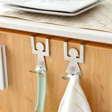 Hoomall <b>2Pcs Home</b> Cabinet Door Without Trace Pocket Hooks ...