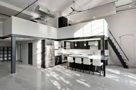 modern residencedesign office featuring a minimalist black and white interior black and white office design
