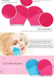 Skin Face Care <b>Mini Electric</b> Facial Cleaning <b>Massage</b> Brush ...
