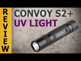 <b>Convoy</b> S2+ Nichia UV <b>Flashlight</b> (365 nm Ultraviolet <b>Light</b>) - YouTube