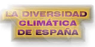 Resultado de imagen de el clima en España título