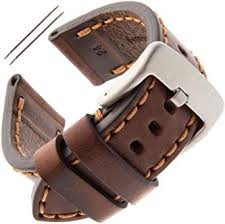 Gilden <b>22</b>-<b>26mm</b> Gents Thick and Heavy Sport Calfskin Leather ...