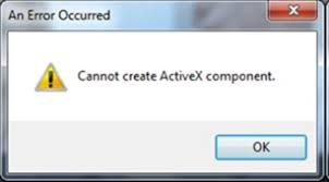 Sage Intelligence: Cannot create ActiveX component - <b>Solution</b> ...