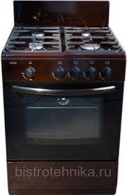 Купить <b>Газовую плиту Cezaris ПГ</b> 3100-00 (Ч) коричневую в ...