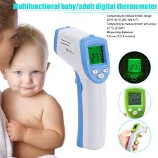 <b>Muti</b>-<b>fuction Baby</b>/<b>Adult</b> Digital Thermometer Infrared Forehead Body ...