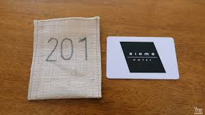 siama hotel the accommodation for serenity and style in sorsogon i love how the hotel card key holder was made from abaca the room number embroidered i can sense their keen attention to detail in making everything