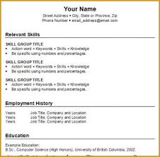 how to make a simple job resume   jumbocover infohow to make a basic resume templates   resume template builder