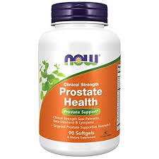 Now Foods, <b>Prostate Health</b>, <b>Clinical Strength</b>, 90 Softgels: Amazon ...